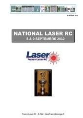 national laser rc 2012