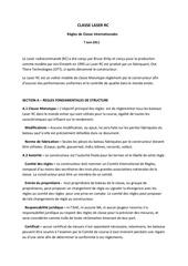 Fichier PDF classe laser rc jauge traduction francaise