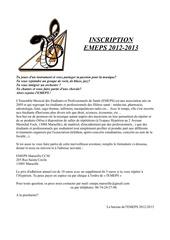 Fichier PDF inscription emeps 2012 2013