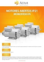 motores monof sicos abertos ip 21
