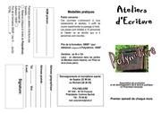 pubecrit 2012 ateliers ecriture