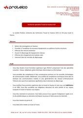2012 juillet protelco ora annonce technicien specialise travail en hauteur v2