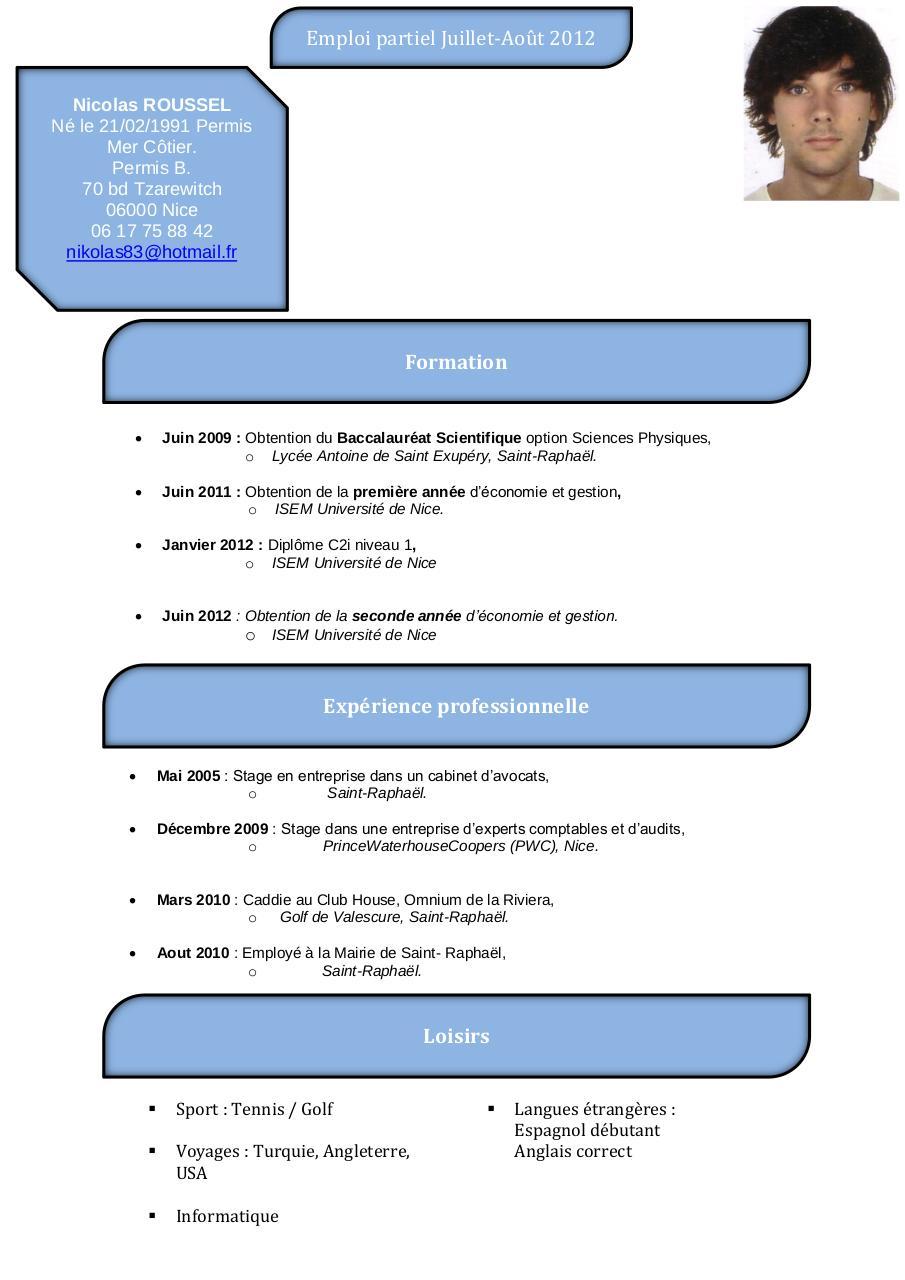 cv 2012 pdf par nikolla