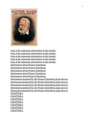 Fichier PDF les miserables