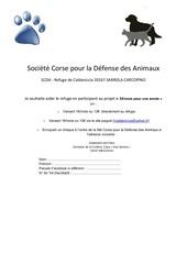Fichier PDF societe corse pour la defense des animaux bulletin adhesion pdf