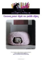 cocoon pour chat ou petit chien