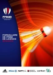 ffbad formulaire de prise de licence 2012 2013 bd