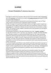 Fichier PDF lexique