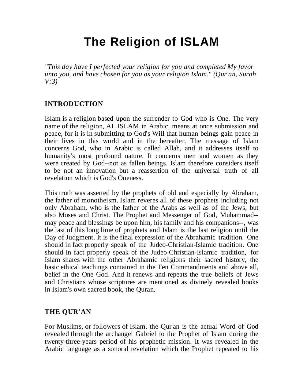 The Religion of Islam.pdf - page 1/27