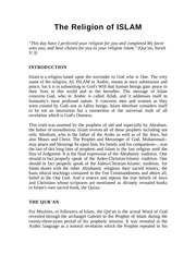 Fichier PDF the religion of islam