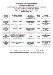 Fichier PDF programme monetier 2012