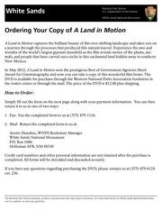 dvd order form