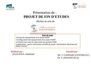agouzoul presentation centrelec