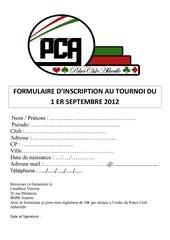 fiche pca 2012