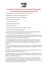 descriptif reglages boitier orion