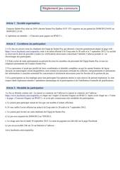 reglement concours ipad 2