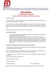 circulaire federale decret 2012 847 du 020712