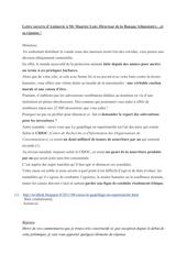 lettre ouverte d animavie a mr maurice lony directeur de la banq