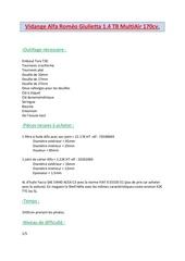 Fichier PDF vidange alfa romeo giulietta