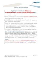 altran ingenieur consultant controle commande gmp h f 2012