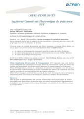 altran ingenieur consultant electronique de puissance h f 2012