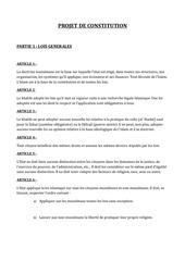 Fichier PDF projet de constitution etat islamique