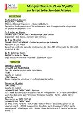 Fichier PDF semainier