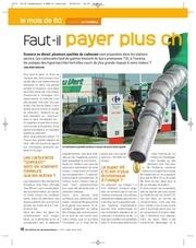 enquete automobile carburant