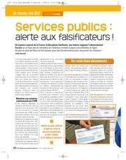 enquete fraude services publics