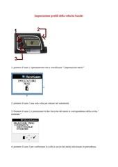 impostazione profili della velocita basale