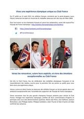 Fichier PDF vivez une experience olympique unique
