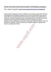 Fichier PDF afrique