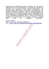 Fichier PDF investigations privees afrique