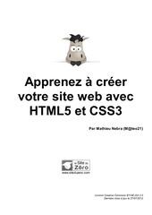 13666 apprenez a creer votre site web avec html5 et css3
