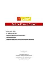 dp sud de france export