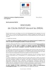 20 juin 2012 discours duflot dreal 1 1