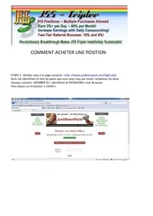 Fichier PDF comment acheter une position