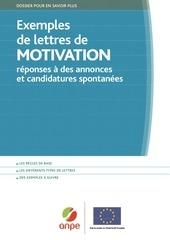 exemples de lettres de motivation 1