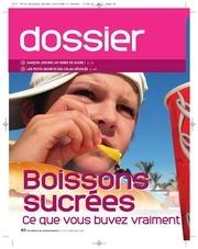 Fichier PDF dossier boissons sucrees light