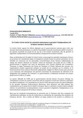 declaration du centre carter sur la future instance electorale 0