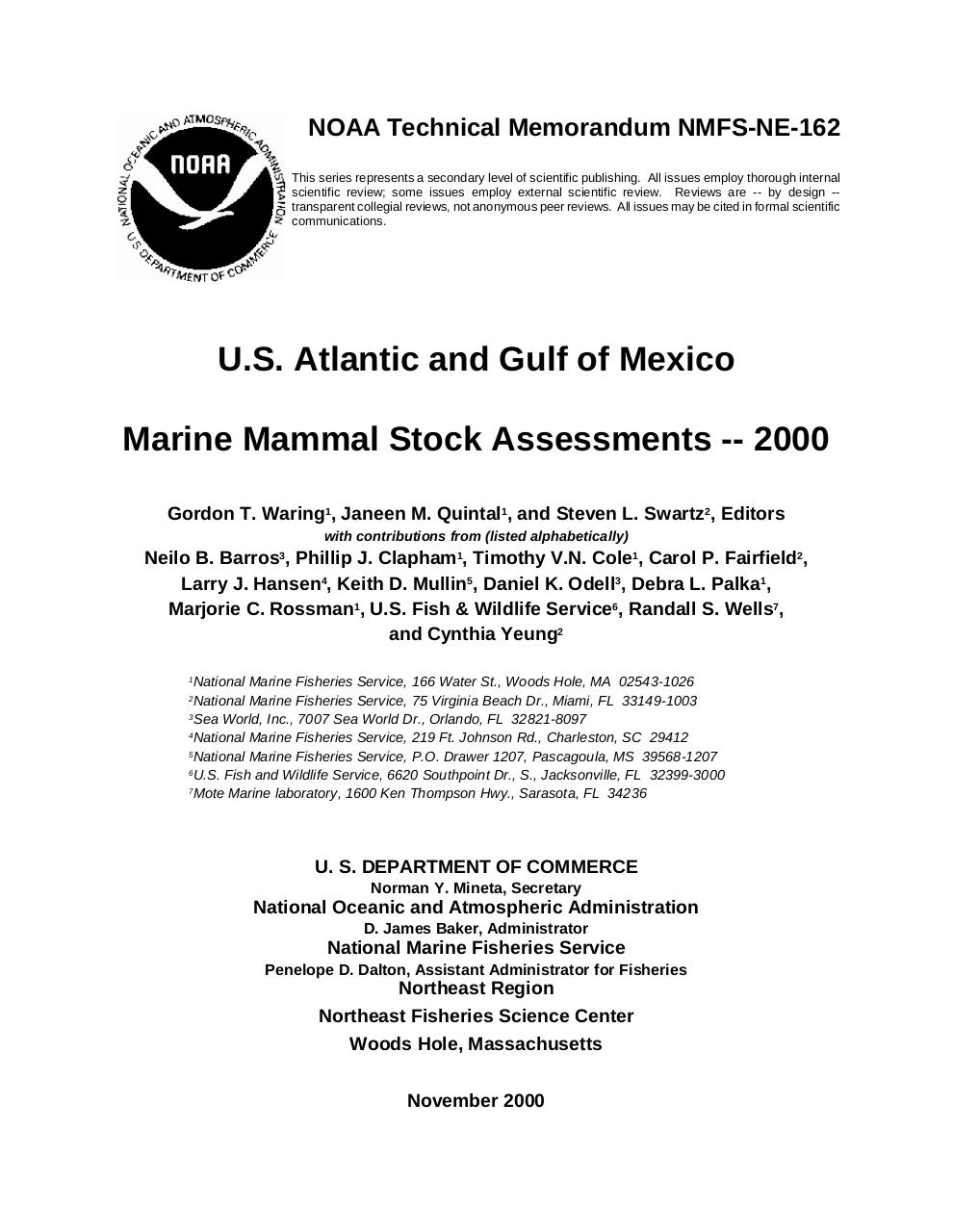 Marine Mammal Stock Assessments.pdf - page 1/309