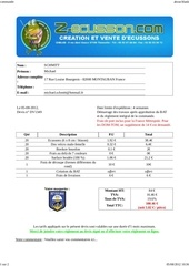 Fichier PDF commande