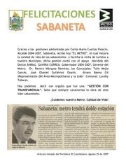 Fichier PDF metro sabaneta 2012