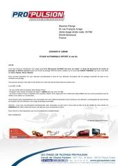 Fichier PDF papier pour reservation stage