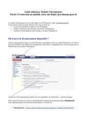 guide utilisateur tele