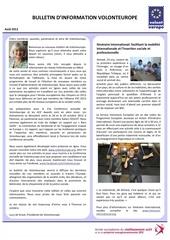 august 2012 volonteurope newsletter fr