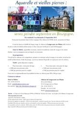 brochure aquarelle longecourt