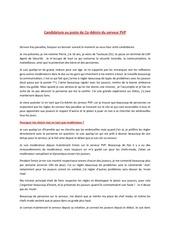 Fichier PDF lette candidature pour co admin pvp