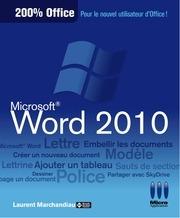 Fichier PDF word 2010