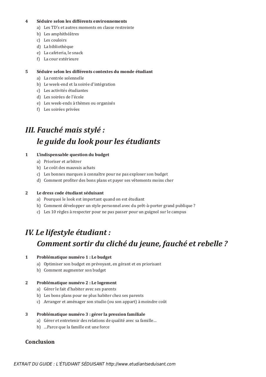 L ETUDIANT SEDUISANT par Alexandre Roth - le guide de l etudiant ... 5f048fcefd19